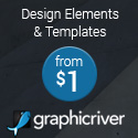 Graphic Design Elements, Logos & Templates Starting at $1!